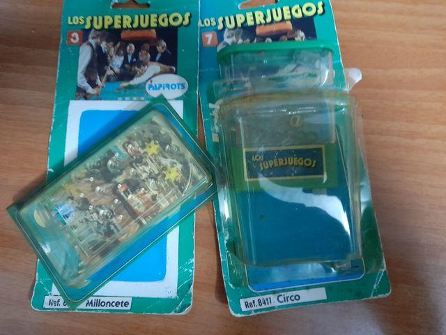 2 superjuegos papirots años 80