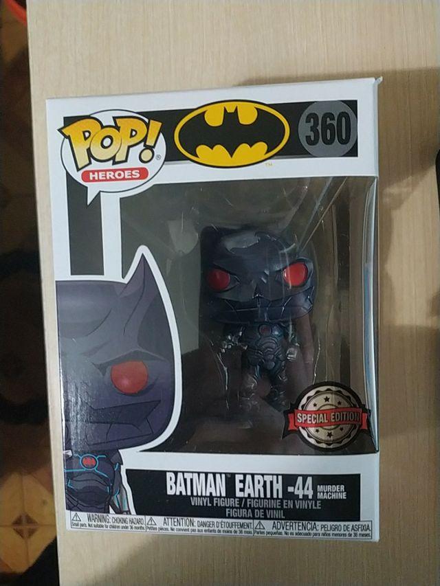 Funko pop earth batman dc comics special nuevo