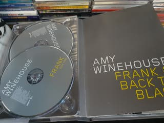 Amy Winehouse caja cd Frank & Back to Black