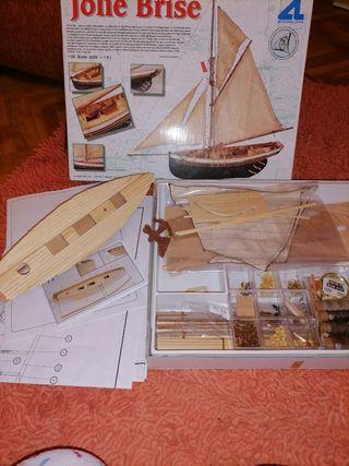 Maqueta barco de vela