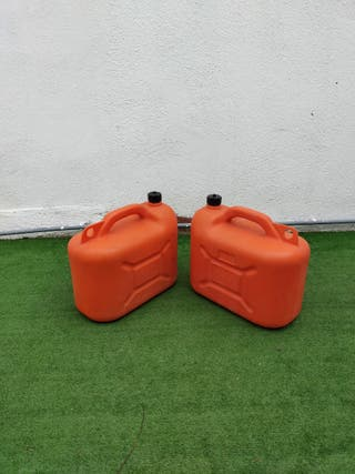 2 bidones para gasoil o gasolina