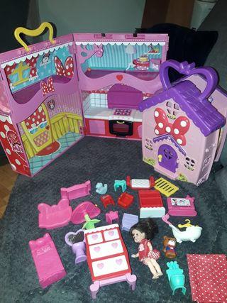 casita de muñecas Minnie