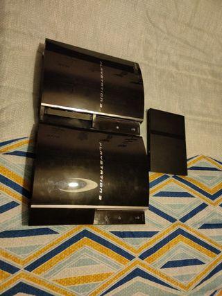 Pack averiadas: 2 PS3 fat (40 y 60 gb) y PS2 Slim