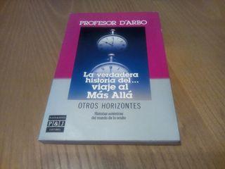 Libro Profesor d'Arbo - Viaje al Mas Alla