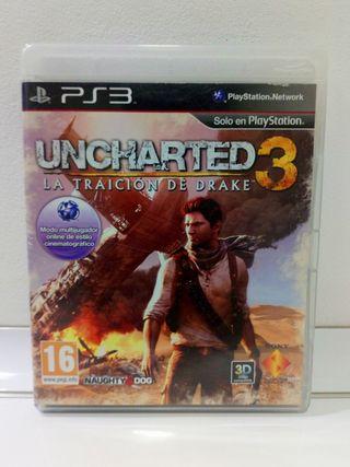 Uncharted 3 La Traición de Drake PS3