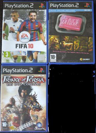 3 videojuegos para PS2