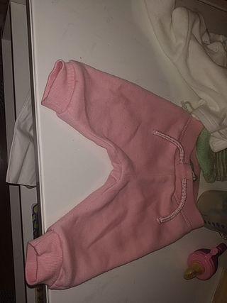 pantalón Rosa bebé, de 0a3 meses
