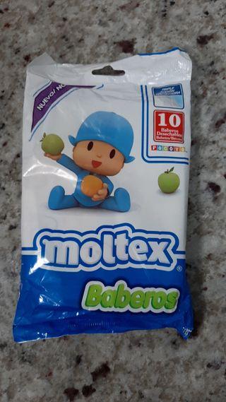 Baberos desechables Moltex Nuevo