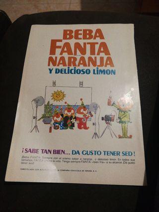 FANTA 1969,ANTIGUA PUBLICIDAD.
