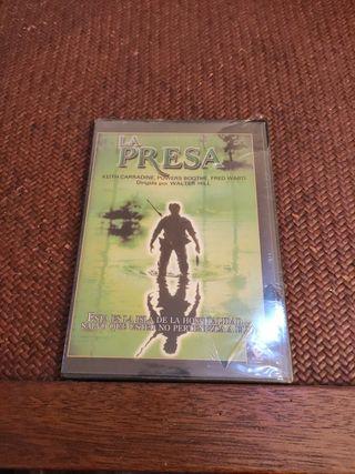 la presa DVD