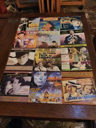 12 DVD cartón títulos de la foto