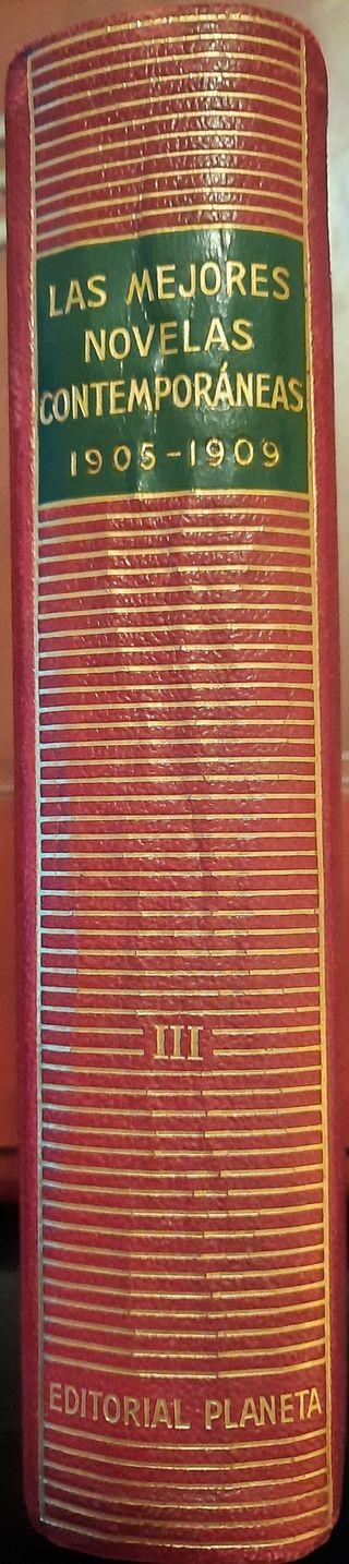 Las mejores novelas contemporáneas 1905-1909