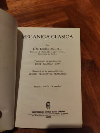 Mecánica clasica
