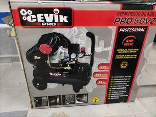 compresor aire comprimido cevik Pro50vz 50l