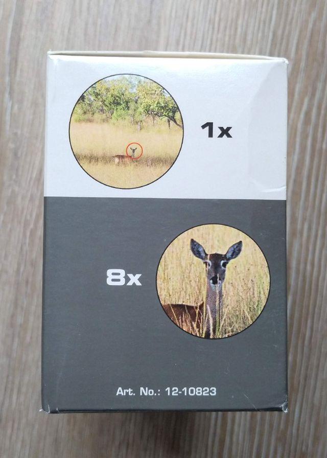 Prismáticos 8x21, Nuevos, Bak7