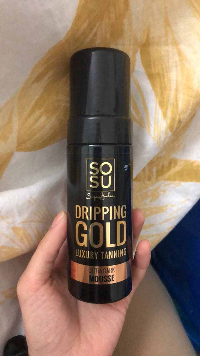 Gold dripping