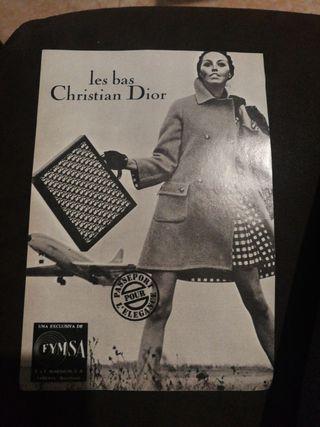 CHISTIAN DIOR 1969,ANTIGUA PUBLICIDAD.