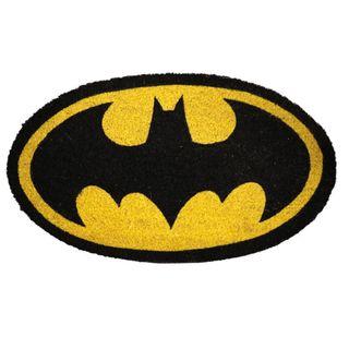 Felpudo original con el logo de Batmatman. Felpudo