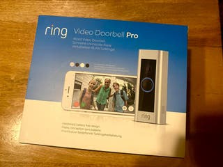 Ring Video Doorbell Pro + ring chime timbre