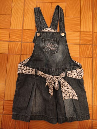 Peto vestido vaquero niña Prenatal 12-18m (83cm)