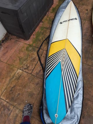 Tabla de surf Proseries con Funda y Leash