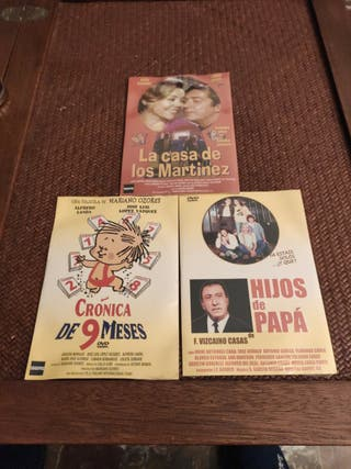 lote cine español precintadas 3 películas
