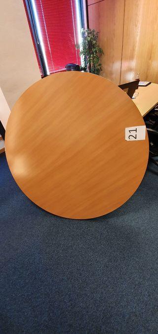 Mesa reunión despacho redonda