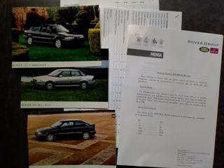 Rover 200 y Rover 400 nota de prensa 1994