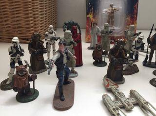 3 figuras Star Wars