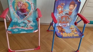 sillas niño niña