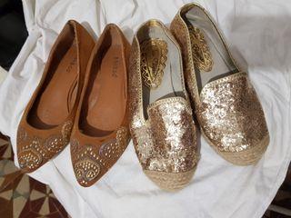 2 zapatillas talla 35