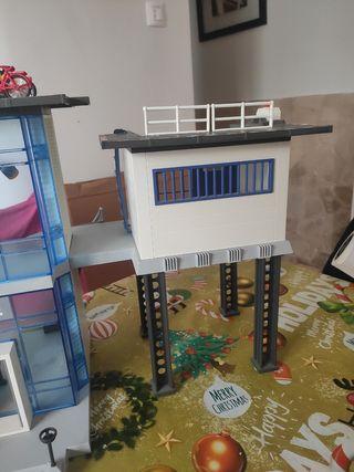 comisaria de Playmobil