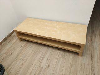 Mueble de TV - Color madera - 149x55x35 cm