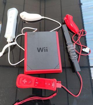 Wii Mini Completa con Juegos