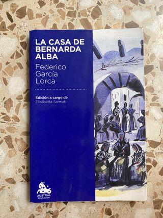 La casa de Bernarda Alba de Lorca