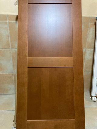 Puertas de armario madera maciza. Medida 60x125