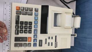 Calculadora con impresora Casio DR-8220