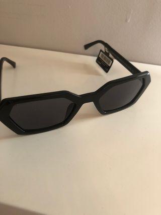 Gafas sol PULL negras rectangulares
