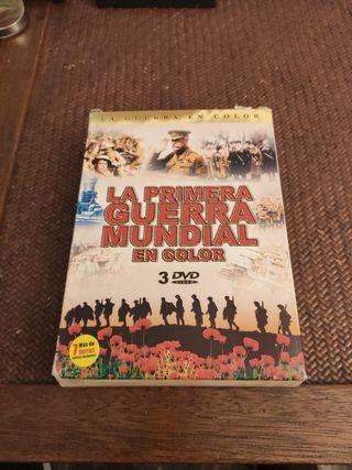 la primera guerra mundial en color DVD 3