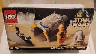 LEGO DROID SCAPE R2 Y C3PO