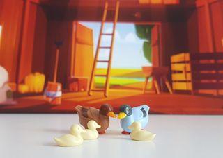 Playmobil Familia de patos