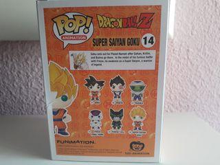 Funko Pop de Super Saiyan Goku