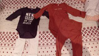 lote ropa bebe niño de 6 meses