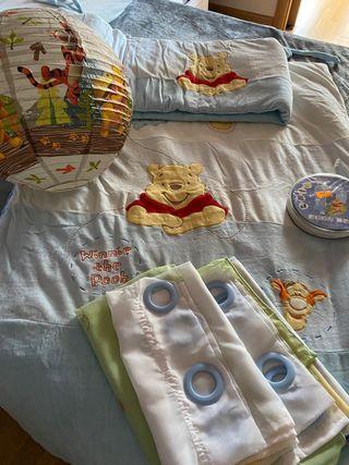 Conjunto habitación bebés de Winni the Pooth