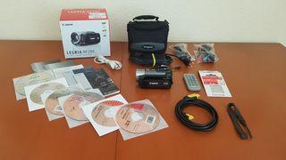 Videocámara Canon Legria HF200 CASI NUEVA y extras