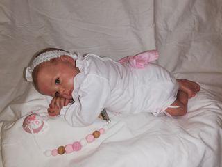 preciosa bebé Reborn prematura talla 00