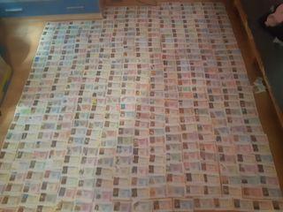 Decimos antiguos de lotería