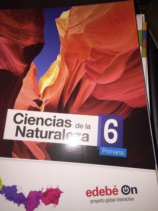 Libro NUEVO CIENCIAS DE LA NATURALEZA EDEBE 6 prim