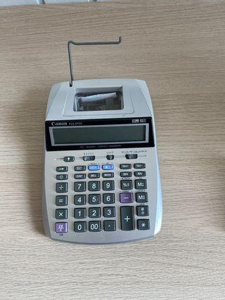 Calculadora con ticket canon