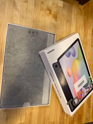 Tablet Samsung S6 Lite 128 GB gris nuevo